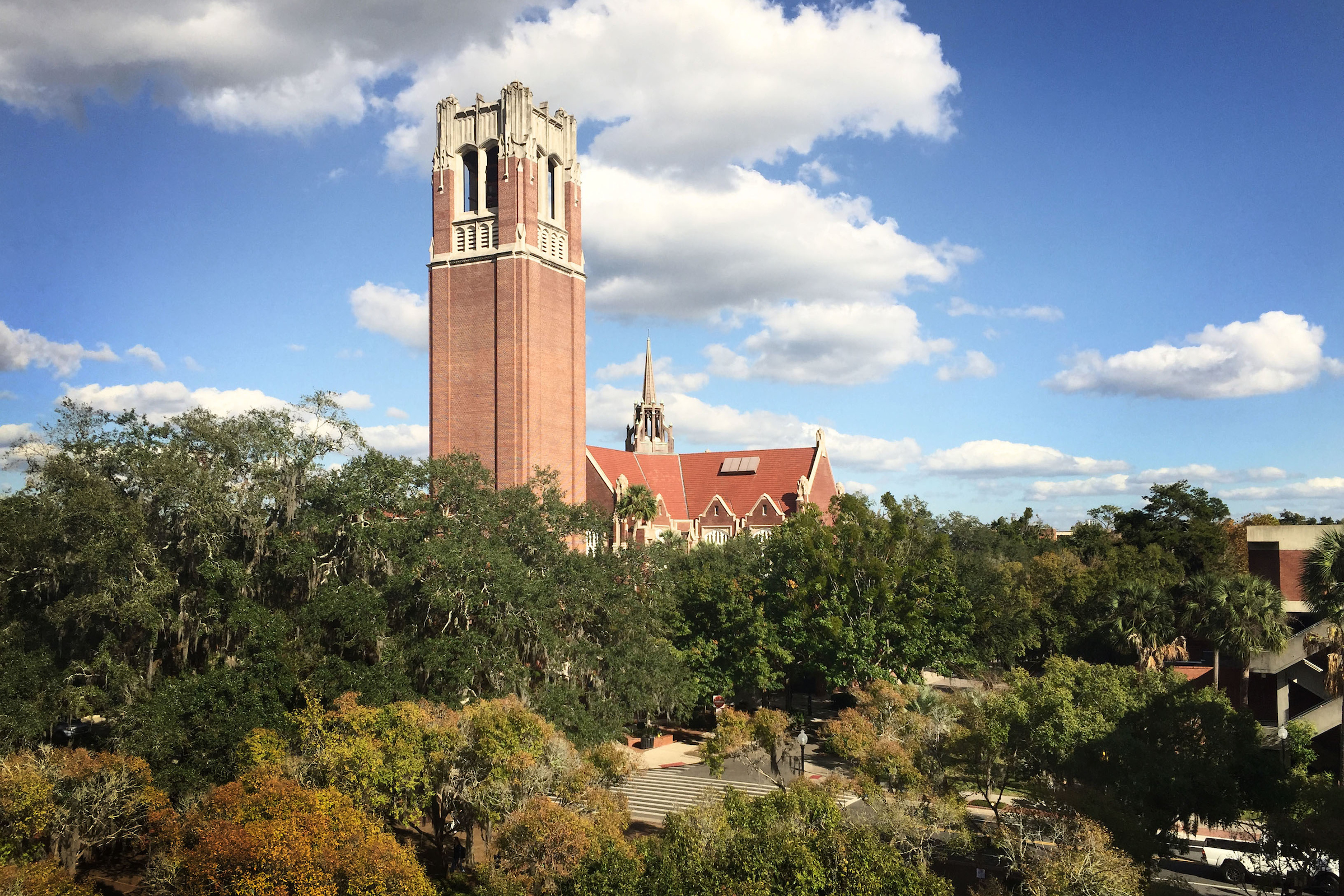 Century Tower UF Monuments and Buildings